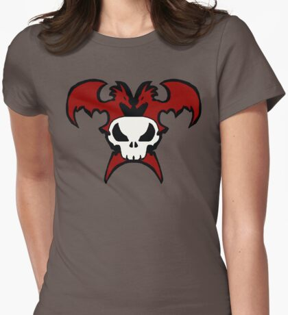 Wings Of Fury Womens Fitted T-Shirt