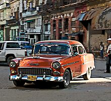 Rush hour, Havana, Cuba by buttonpresser