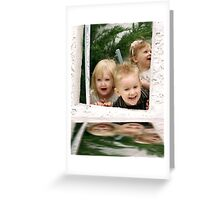 Reflections of laughter Greeting Card