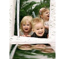 Reflections of laughter Photographic Print