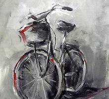 Someone's bike by Ivana Pinaffo