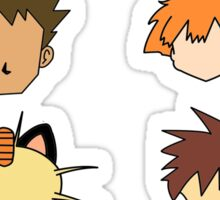 Simple Pokemon Main Characters Sticker