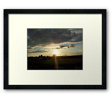 Summer in Migennes - June 2011 Framed Print