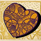 Golden-Purple-Heart-Shadow by Kerryn Madsen-Pietsch