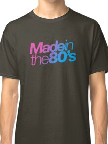 Made in the 80s - Helvetica Classic T-Shirt