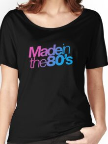 Made in the 80s - Helvetica Women's Relaxed Fit T-Shirt
