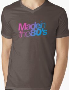Made in the 80s - Helvetica Mens V-Neck T-Shirt