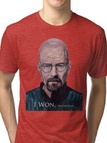 I Won - Walter White Tri-blend T-Shirt