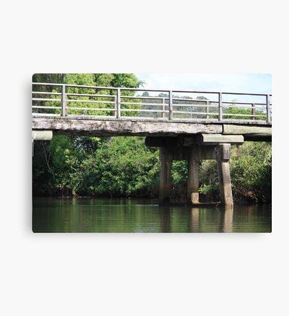 Bridge Over Tallebudgera Creek Canvas Print