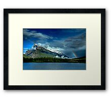 Valley Storms Framed Print