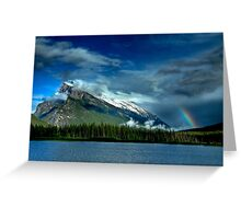 Valley Storms Greeting Card