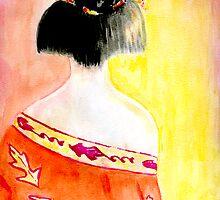 Autumn Geisha by Karen Clark