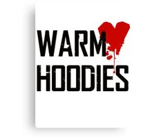 warm hoodies Canvas Print
