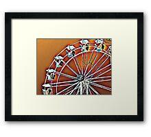 Spinning Wheel Framed Print