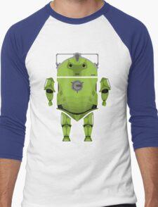 Cyberdroid Men's Baseball ¾ T-Shirt