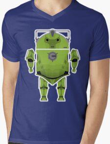 Cyberdroid Mens V-Neck T-Shirt