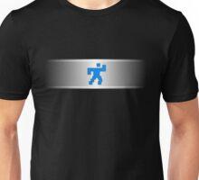 Running Pixel Beam Unisex T-Shirt