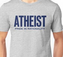 Atheist - Pride in Rationality Unisex T-Shirt