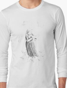 Queen of the Doves Long Sleeve T-Shirt