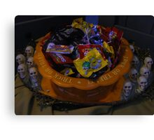 Trick or Treat??? Canvas Print