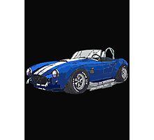 1966 Shelby Cobra 427 Pen and Ink Sketch Photographic Print