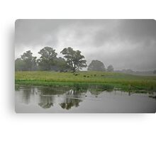 Rural Afternoon, Exeter Canvas Print