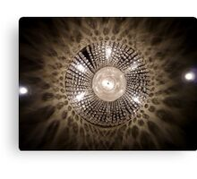 Lights from the Fairmont. Canvas Print