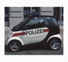 Smart Police Car One Piece - Long Sleeve