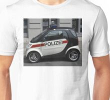 Smart Police Car Unisex T-Shirt