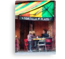 Tortilla Flats Greenwich Village Canvas Print