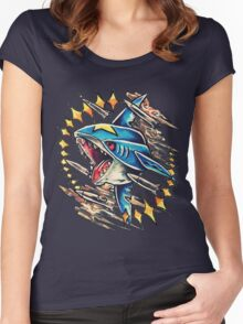 Sharpedo Women's Fitted Scoop T-Shirt