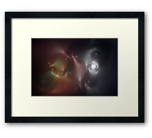 Evolution of Stars Framed Print