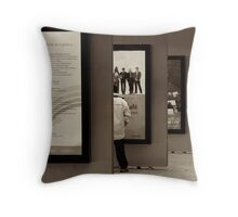 What's On? Throw Pillow