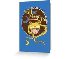 Sailor Moon Pie Greeting Card