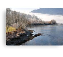 River Loisach Germany Canvas Print