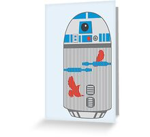 R2 Birdcage Greeting Card