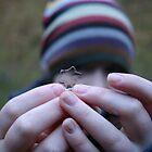 Ice Crystal Leaf by Annlynn Ward