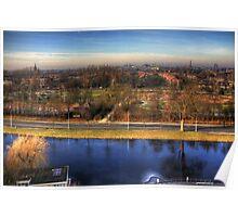 Leiden view Poster