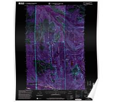 USGS Topo Map Washington State WA Mount Wow 242599 2000 24000 Inverted Poster