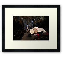 Lincoln Cathedral Choir Framed Print