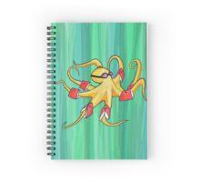 Awkward Octopus Spiral Notebook