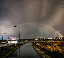 Under the rainbow by Chloé Ophelia Gorbulew