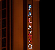 Palazzo Hotel and Casino on Veterans Day 2011, Tall Shot by Henry Plumley