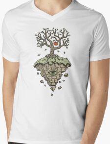 LAST APPLE Mens V-Neck T-Shirt