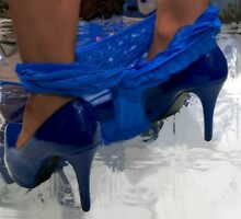 BLUE SHOES by Spiritinme
