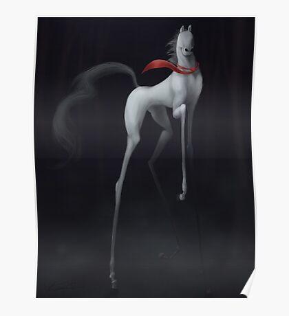 Slenderman's Horse Poster