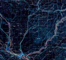 USGS Topo Map Washington State WA Walla Walla 244506 1953 250000 Inverted Sticker