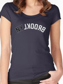 NY LKOORB (Brooklyn) Women's Fitted Scoop T-Shirt