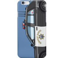 California Highway Patrol Ford Crown Victoria Police Interceptor iPhone Case/Skin