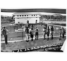 Miraflores Locks Poster